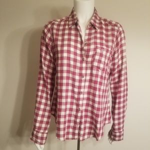New with Tags Hollister Plaid Button Down Shirt